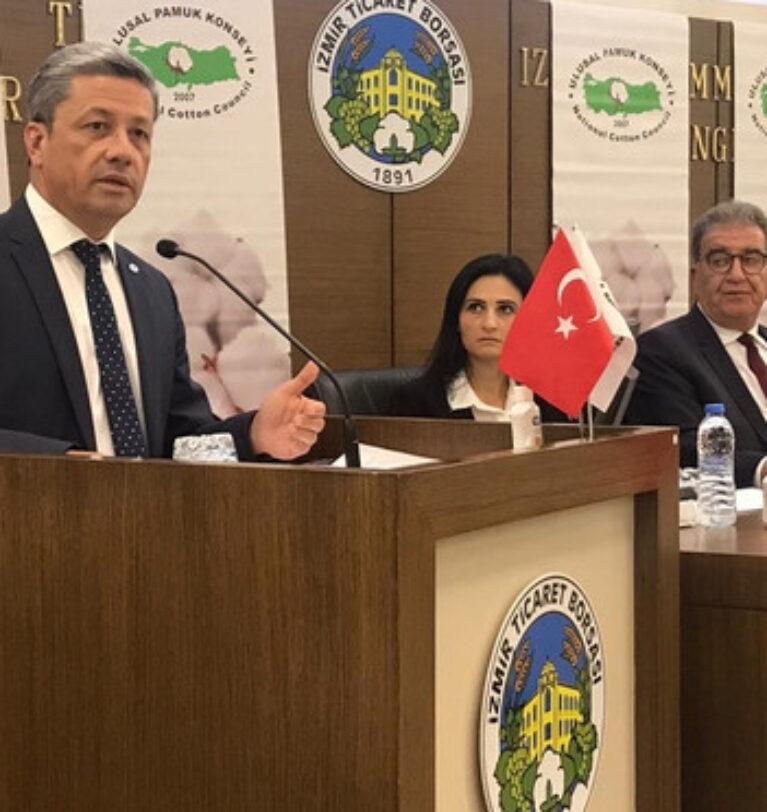 Ulusal Pamuk Konseyi Başkanlığı'na yeniden Bertan Balçık seçildi